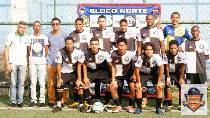 Campeonato Das Regiões Do Bloco Norte - time de São Cristóvão