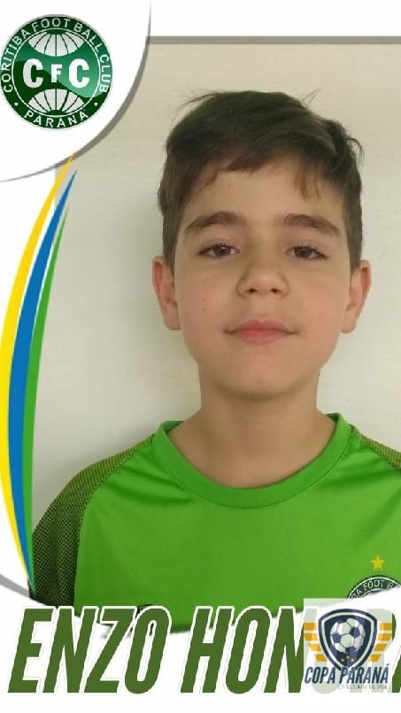 Copa Parana Futebol 7 Base - Enzo do coxa viro figurinhas