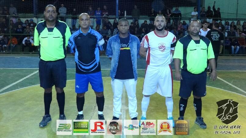 Copa Verde de Futsal 2018 - Nova Geração x PSG Frontin