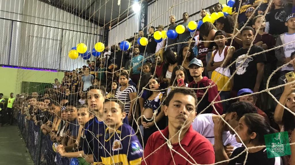 Copa Verde de Futsal 2019 - Torcida do Burger Green lotando o Ginásio