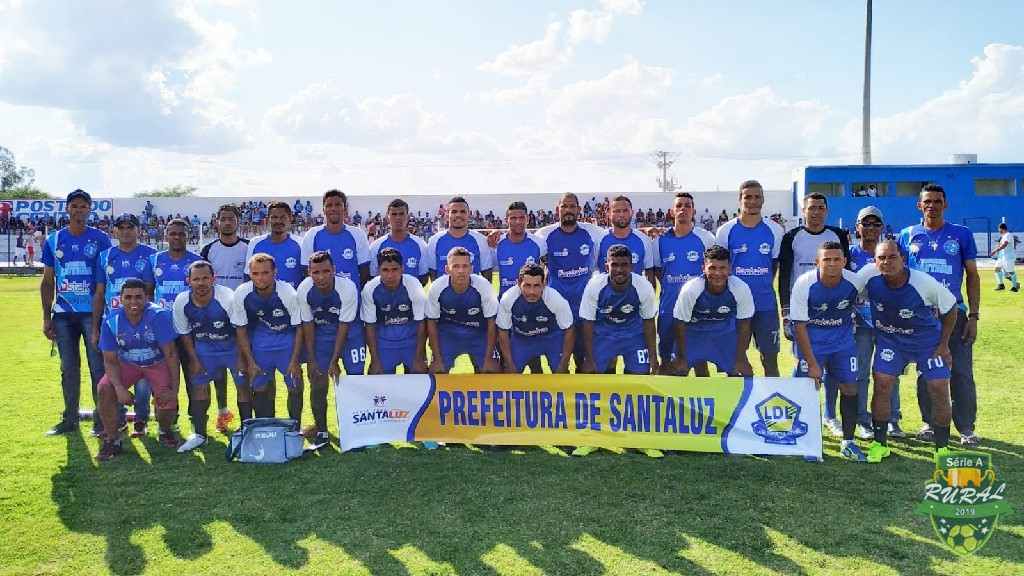 CAMPEONATO RURAL SERIA A - 2019 - Equipe do Escorrega na partida contra a equipe da Serra Branca, pelo Campeonato Rural 2019. 12/10/2019