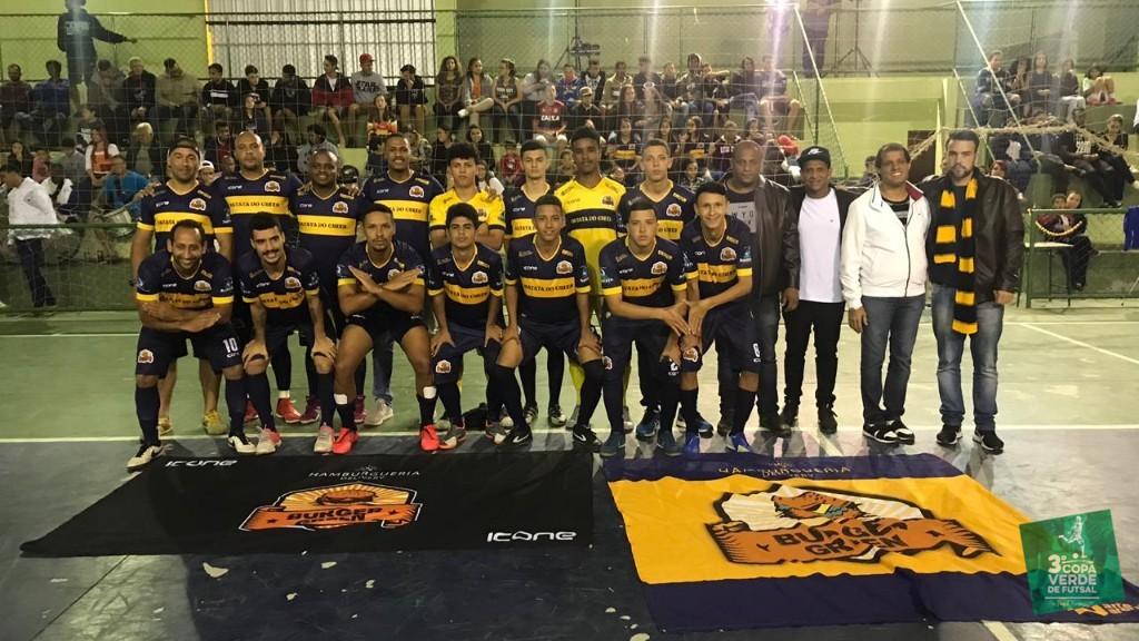 Copa Verde de Futsal 2019 - Burger Green - Campeão 2019