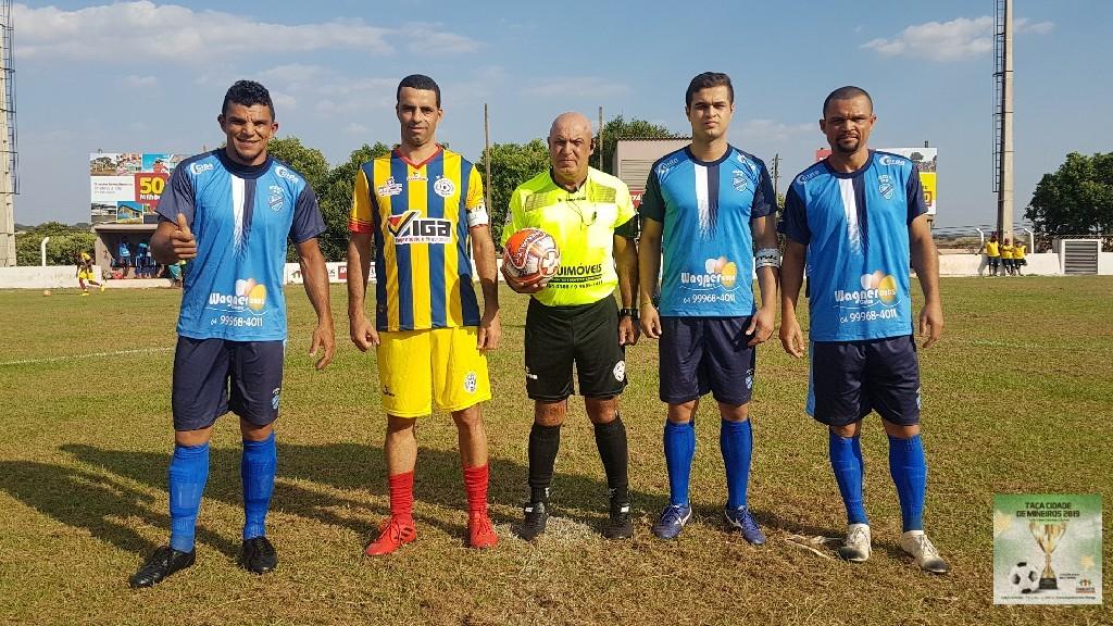 TAÇA CIDADE DE MINEIROS  - Atlético Mineirense  x Arabol.