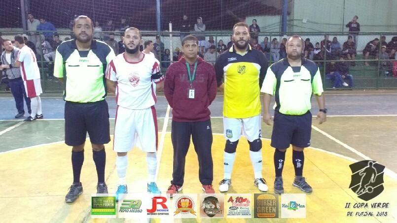 Copa Verde de Futsal 2018 - NOV x MOR