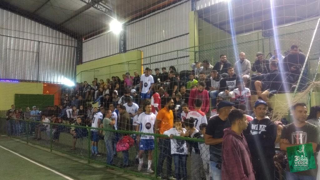 Copa Verde de Futsal 2019 - Ginásio lotado! Tudo pronto para começar o espetáculo...