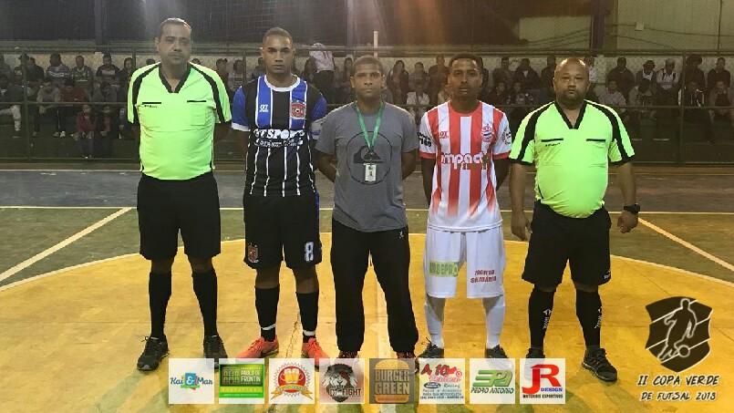 Copa Verde de Futsal 2018 - Baile de Munique x Mais Ou Menos