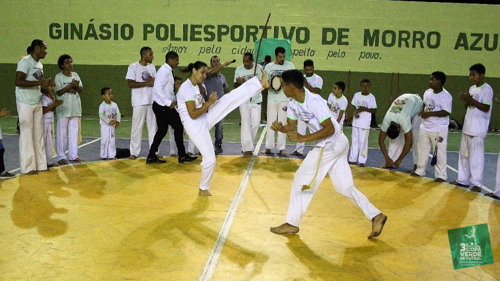 Copa Verde de Futsal 2019 - Apresentação do Grupo de Capoeira Brasilcap