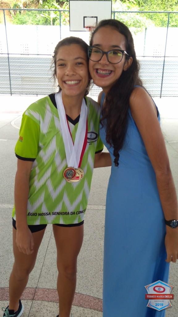 XXII Torneio Maria Emilia 2019 - Melhor jogadora de Futsal médio - Vivian