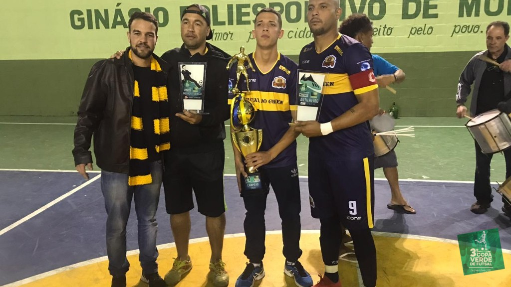Copa Verde de Futsal 2019 - Quando o investimento vale a pena dá em título e muita festa!