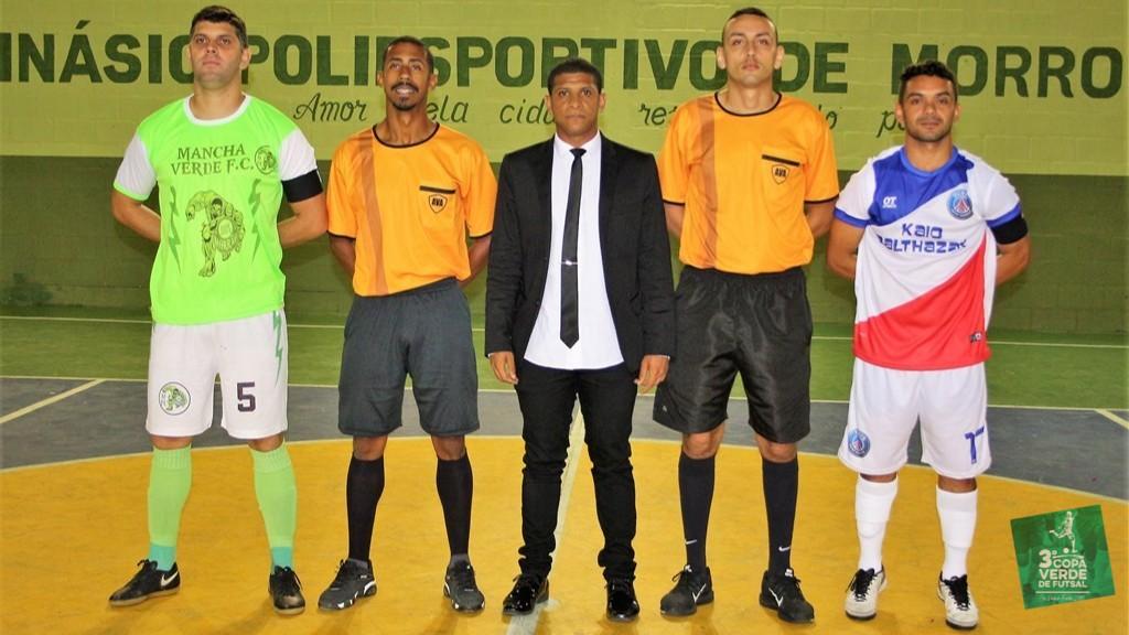 Copa Verde de Futsal 2019 - PSG Frontin x Mancha Verde (Jogo #1)