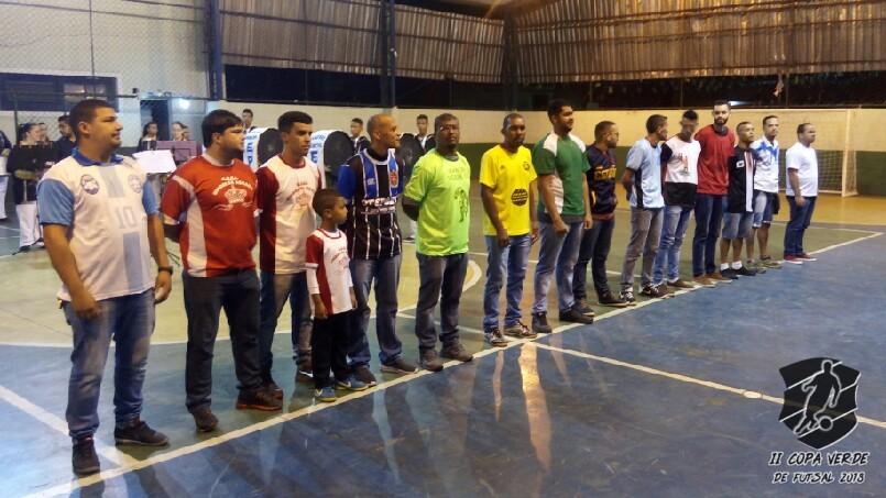 Copa Verde de Futsal 2018 - Apresentação das equipes.