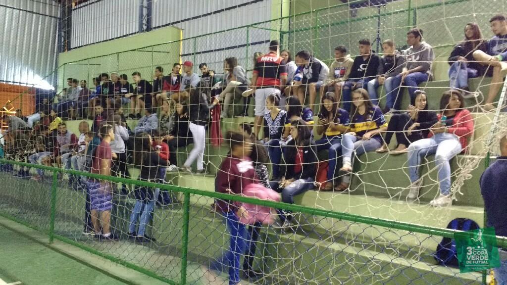 Copa Verde de Futsal 2019 - Galera começa a encher o Ginásio para a Cerimônia de Premiação.