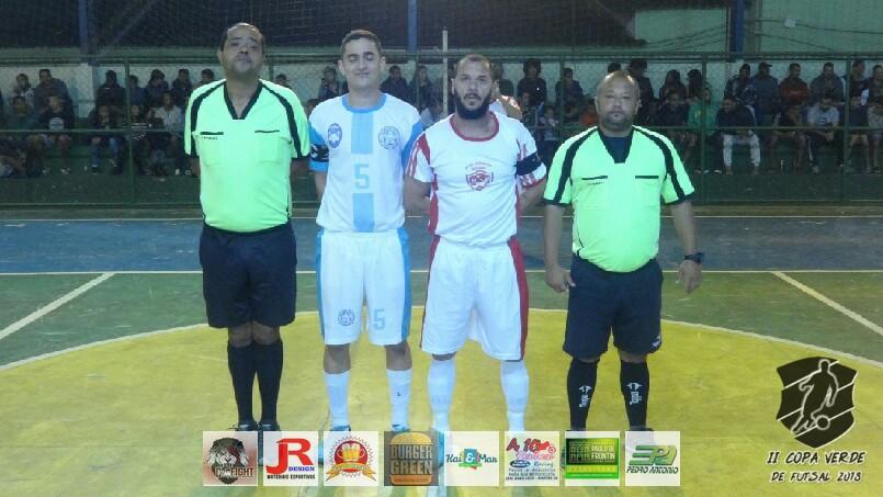 Copa Verde de Futsal 2018 - Nova Geração x Grama City