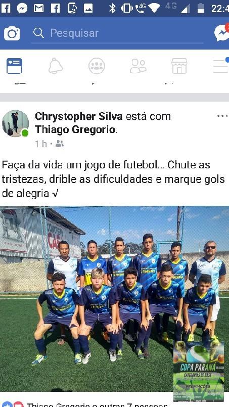 Copa Parana Futebol 7 Base - A frase do dia e desta fera aí da equipe do Londrina parabéns garoto pelas frases desisti jamais parabéns para esta exelente equipe do Londrina