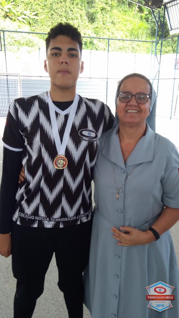 XXII Torneio Maria Emilia 2019 - Melhor Goleiro Futsal  Ensino Médio - Pedro