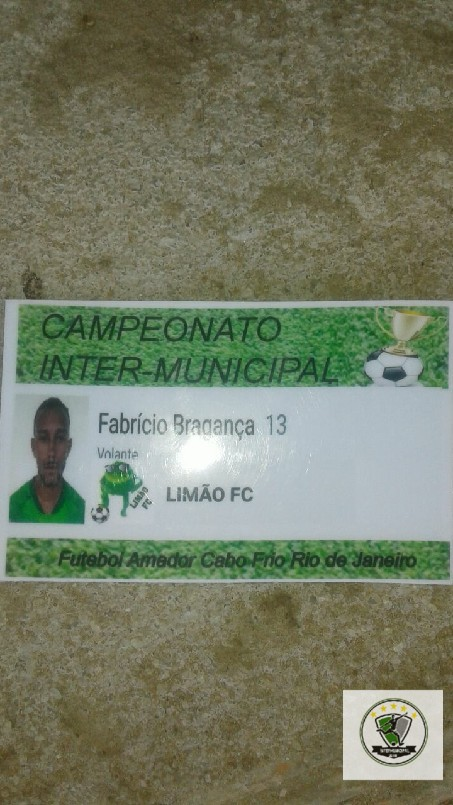Campeonato Intermunicipal 2018 - Atleta expulso (Limão FC)