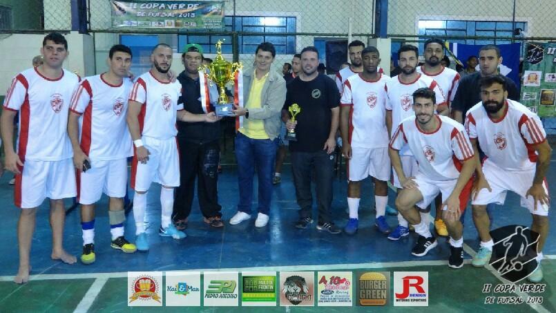 Copa Verde de Futsal 2018 - Nova Geração (Vice-campeão)