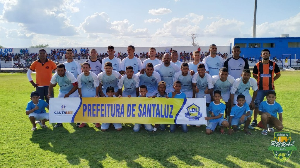 CAMPEONATO RURAL SERIA A - 2019 - Equipe da Serra Branca na partida contra a equipe do Escorrega, pelo Campeonato Rural 2019. 12/10/2019