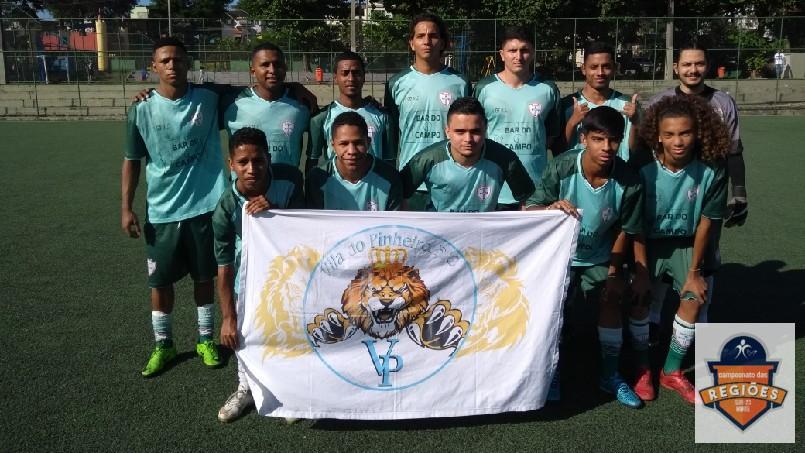 Campeonato Das Regiões Do Bloco Norte - time do pinheiro 1