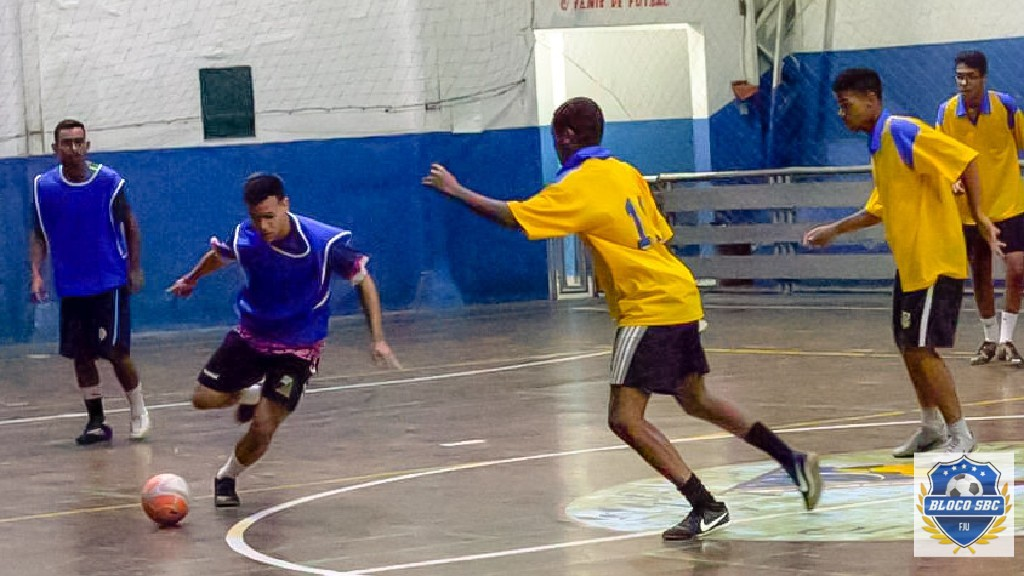 Copa Futsal FJU SBC  - 3° rodada realizada no último domingo (30/06)