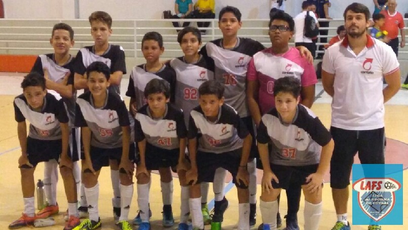LIGA ALAGOANA DE FUTSAL  - equipe sub 13 do Contato