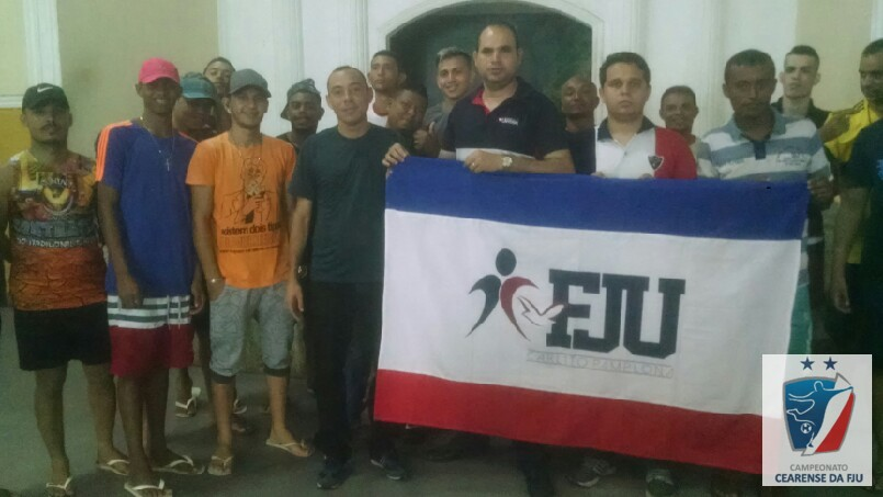 Cearense da FJU  - galera do esporte Carlito na expectativa pro cearense