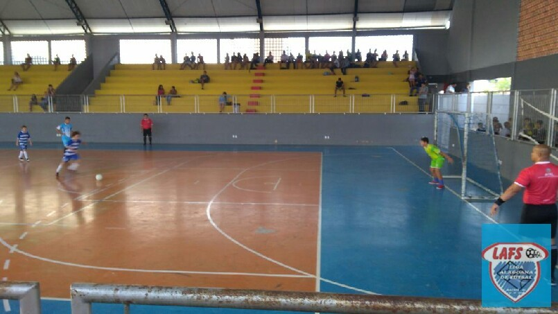 LIGA ALAGOANA DE FUTSAL  - jogo entre Rosalvo Ribeiro e Santa Cecília