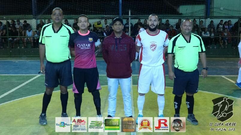 Copa Verde de Futsal 2018 - Nova Geração x Mulecada