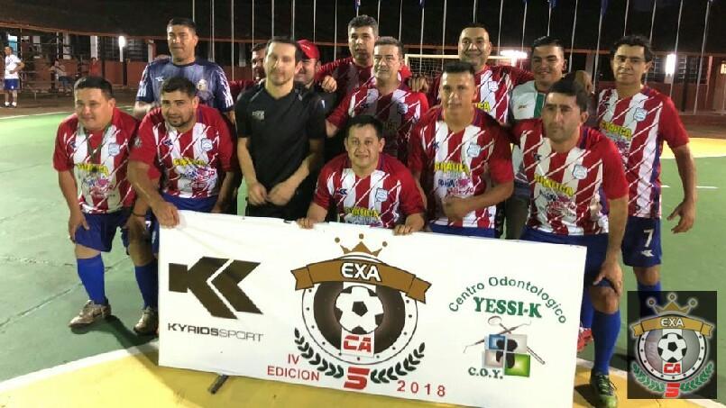 Torneo EXA CA5 - gran victoria promo '96