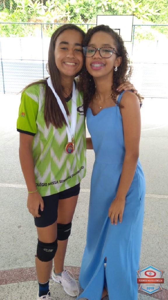 XXII Torneio Maria Emilia 2019 - Melhor jogadora de Futsal 8 ano - Bianca