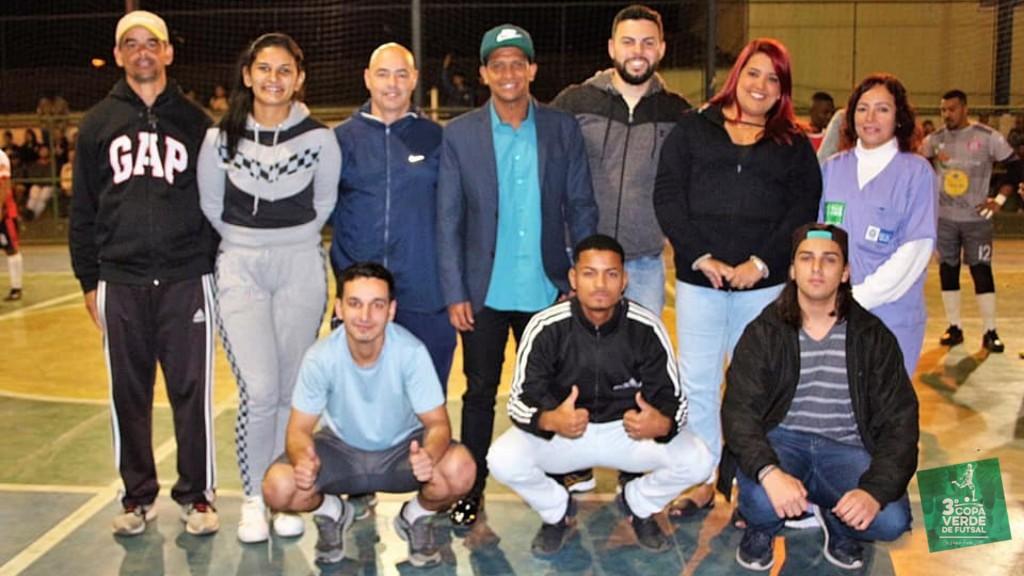 Copa Verde de Futsal 2019 - Equipe de Apoio e Organização (Rodada #2)