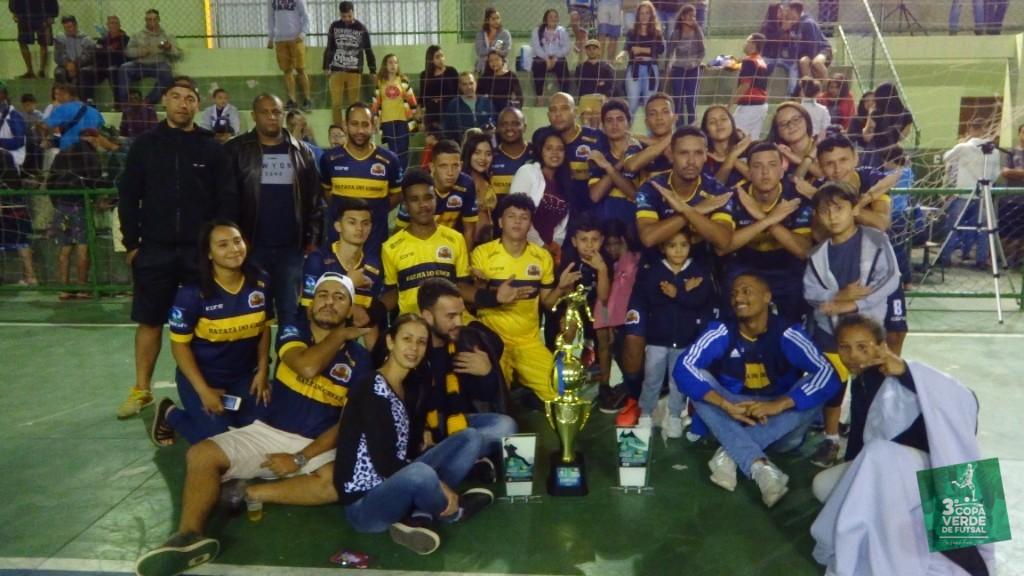Copa Verde de Futsal 2019 - Em 2019, o Burger Green se junta a Mais Ou Menos e PSG Frontin na Galeria dos Campeões da Copa Verde de Futsal