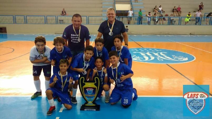 LIGA ALAGOANA DE FUTSAL  - Seb campeão sub 11