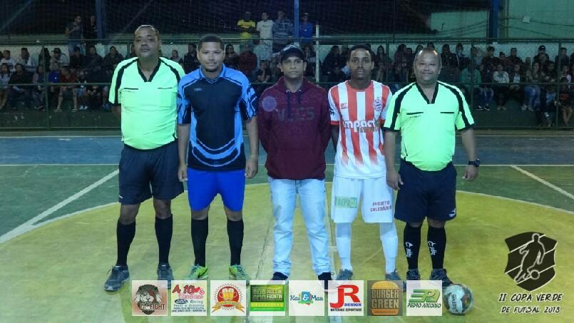 Copa Verde de Futsal 2018 - Baile de Munique x PSG Frontin