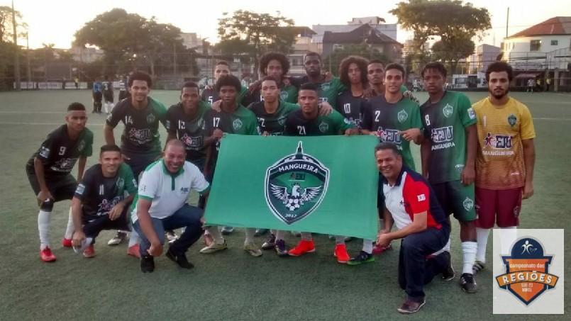 Campeonato Das Regiões Do Bloco Norte - time da mangueira