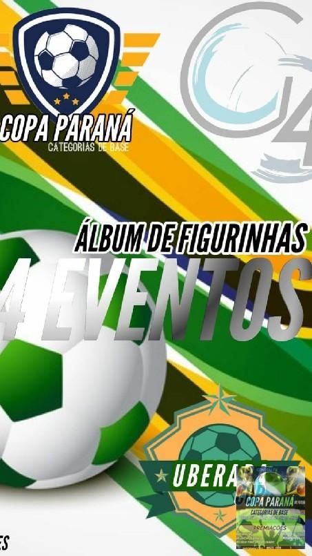 Copa Parana Futebol 7 Base - está chegando o álbum mais aguardado do ano a 1 edição do álbum de figurinhas si liga seu filho vai virar figurinha