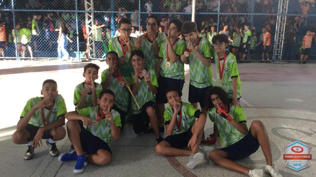 XXII Torneio Maria Emilia 2019 - Campeão Handebol 7 ano