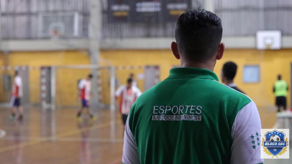 Copa Futsal FJU SBC  - Olhar atento de quem sabe o faz.