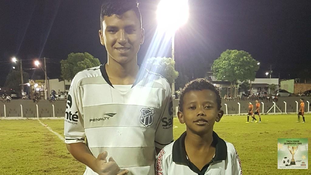 TAÇA CIDADE DE MINEIROS  - Thiago e Kassio.