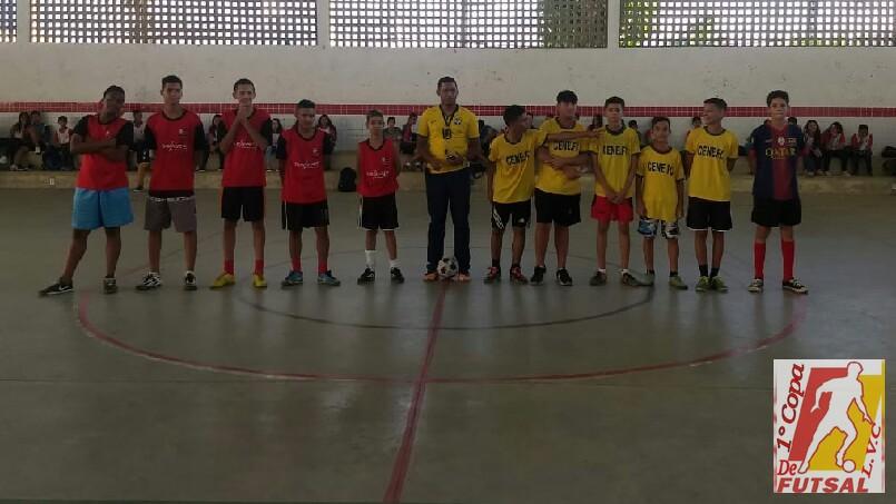 1° Copa Lvc De Futsal  -