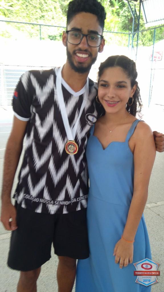 XXII Torneio Maria Emilia 2019 - Melhor Goleiro Handebol Ensino Médio - Gabriel Souza (Gabigol)