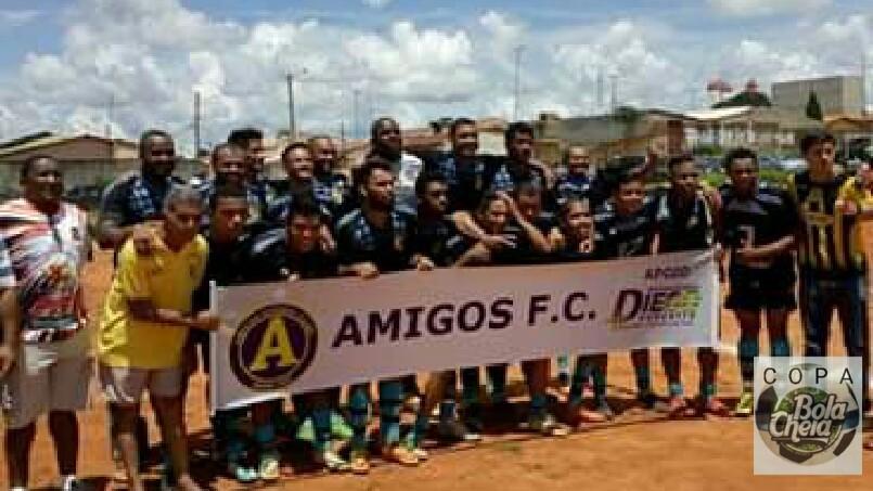 3°Copa Bola Cheia  - Amigos futebol clube