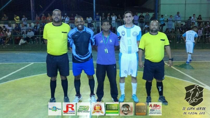 Copa Verde de Futsal 2018 - PSG Frontin x Grama City