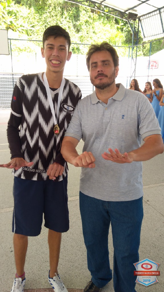 XXII Torneio Maria Emilia 2019 - Melhor jogador de Basquete Ensino Médio - João Victor