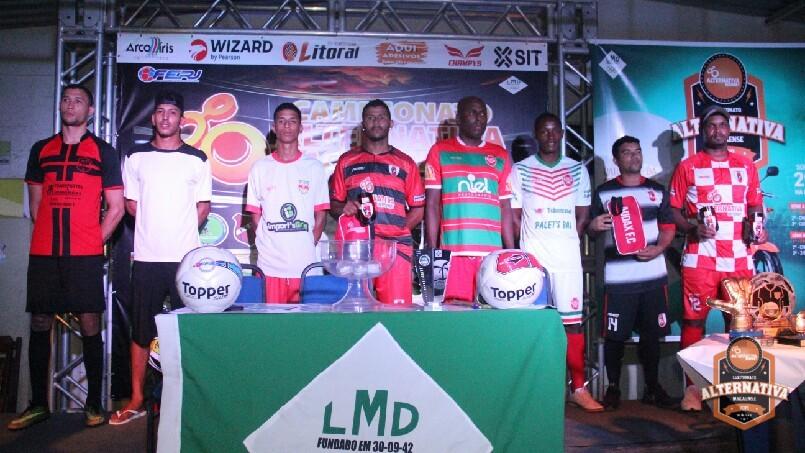 Campeonato ALTERNATIVA Macaense 2019 - Apresentação Uniformes Série B