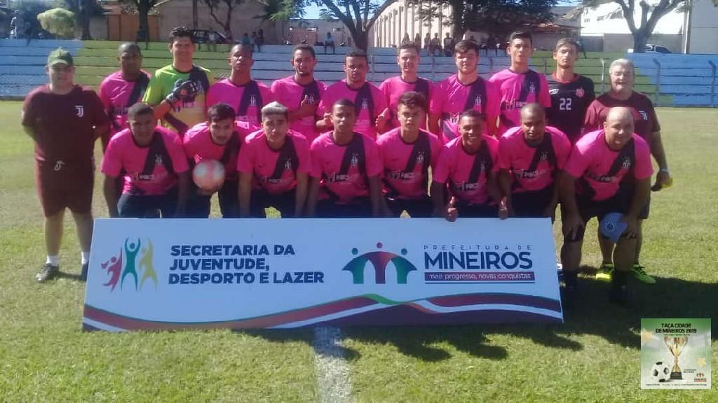 TAÇA CIDADE DE MINEIROS  - Juventus B rumo a série A