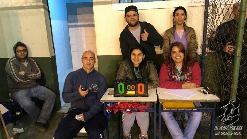 Copa Verde de Futsal 2018 - Equipe organizadora.