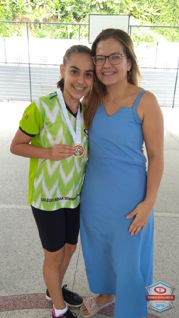 XXII Torneio Maria Emilia 2019 - Melhor jogadora de Futsal 7 ano - Isabelle Paim