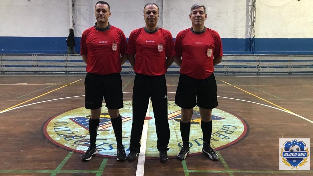 Copa Futsal FJU SBC  - Árbitros da Liga de SBC