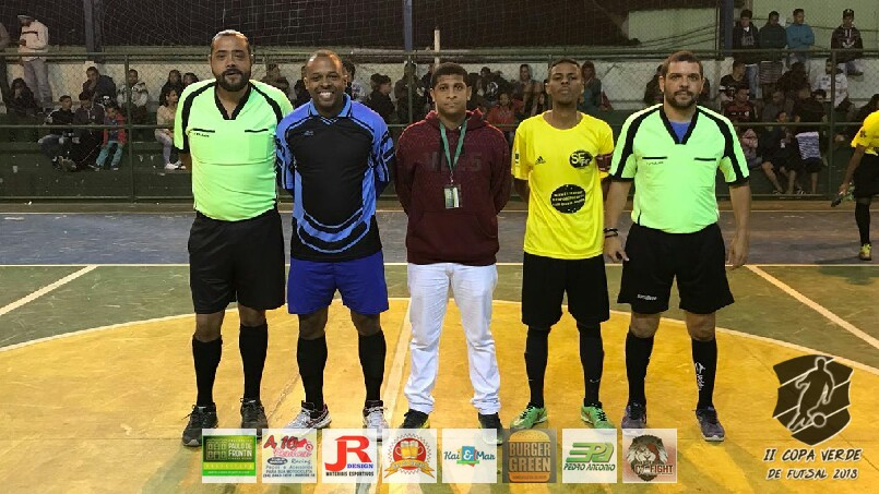 Copa Verde de Futsal 2018 - Massacra x PSG Frontin